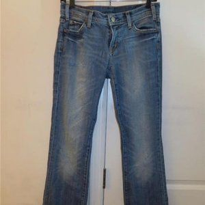 CITIZENS OF HUMANITY FLARE LEG JEANS - SIZE 28